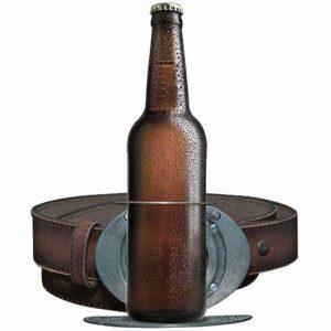 Пряжка-держатель на ремень для пива