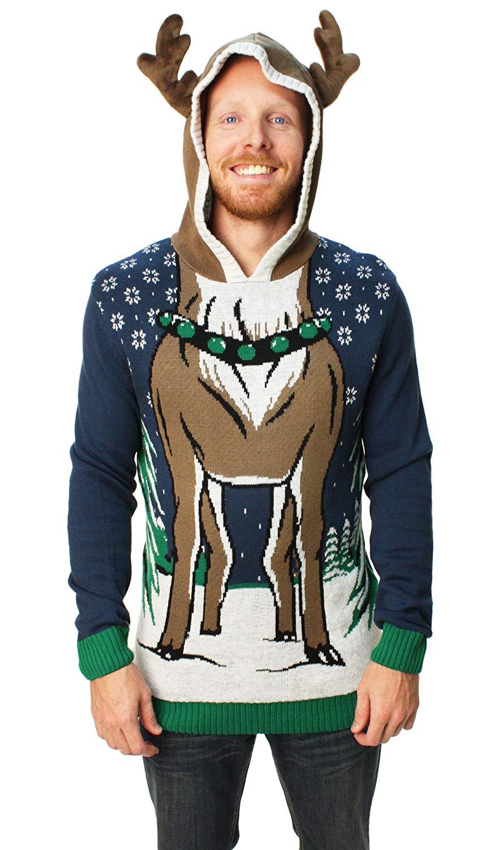 свитер олень
