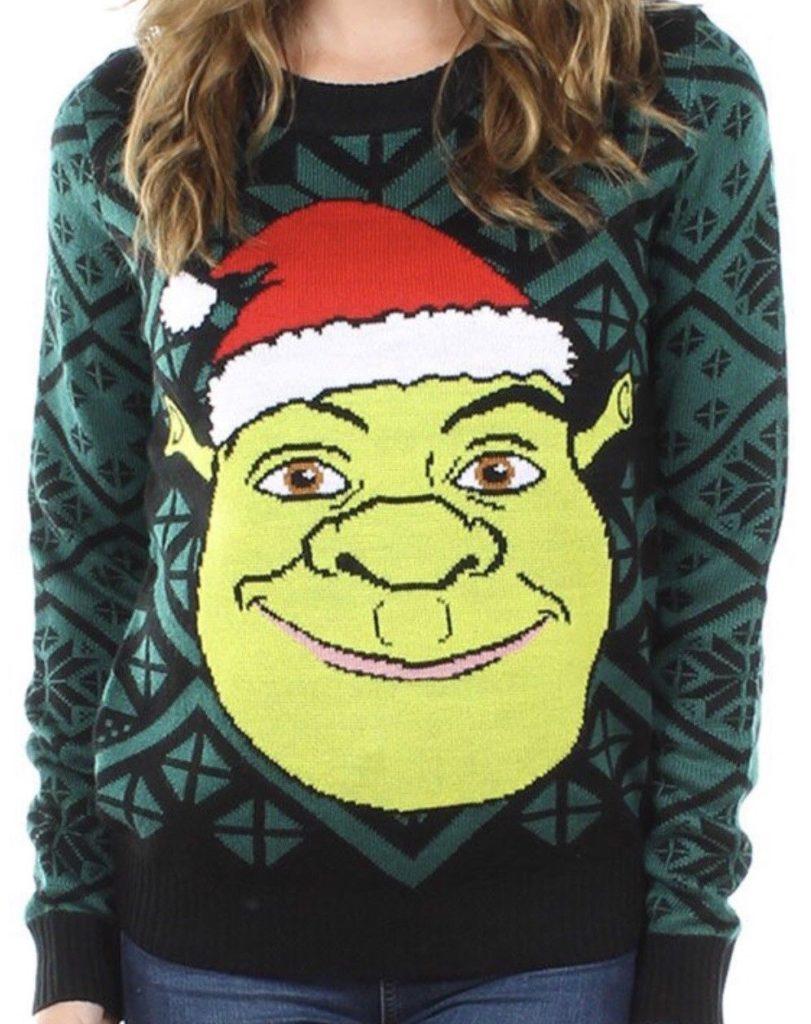 свитер Санта-Шреком
