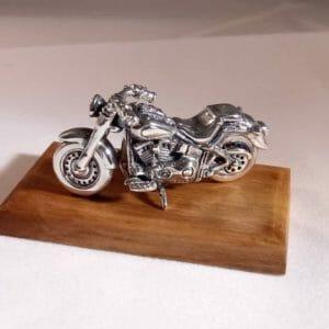 Мотоцикл Чоппер Серебро