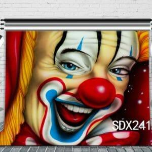 клоун постер