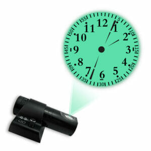 Часы Проекционные на Стену Круглый Циферблат