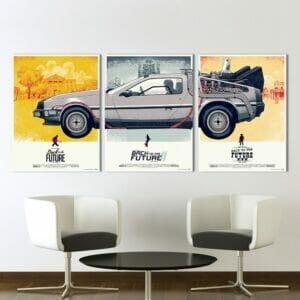 """Постер на Стену из """"Назад в будущее"""""""