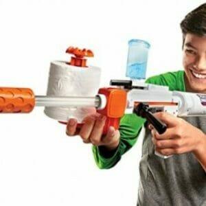 Ружье для стрельбы туалтной бумагой