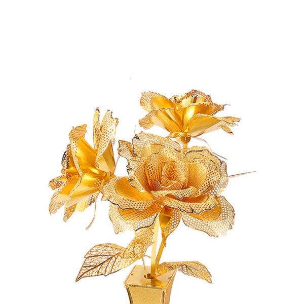 Розы 3d пазл из металла. Конструктор для взрослых.