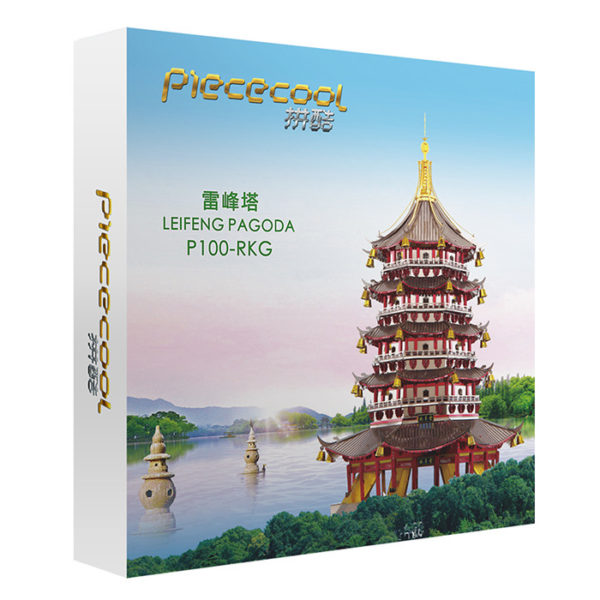 3d пазл из металла Пагода