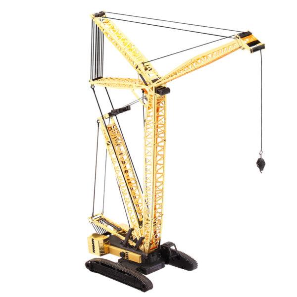 Модель крана 3d пазл из металла. Конструктор для взрослых.