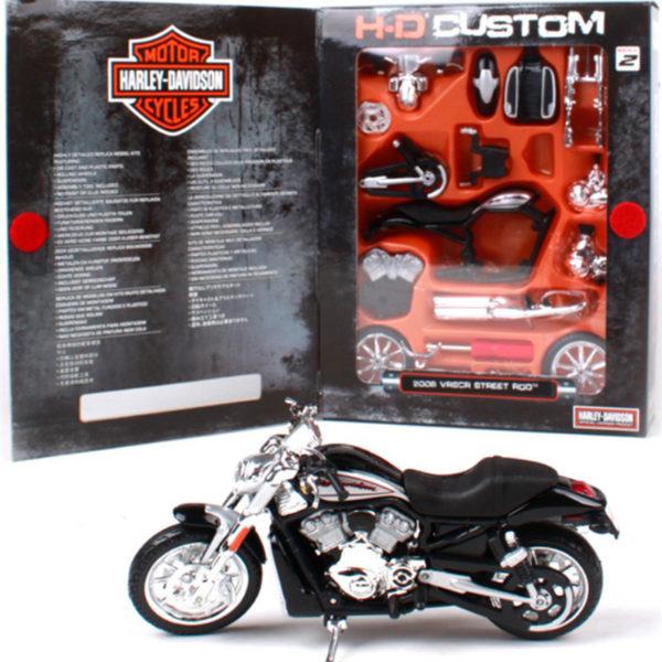 Harley 2006 Street Rod Maisto 1:12 мотоцикл.