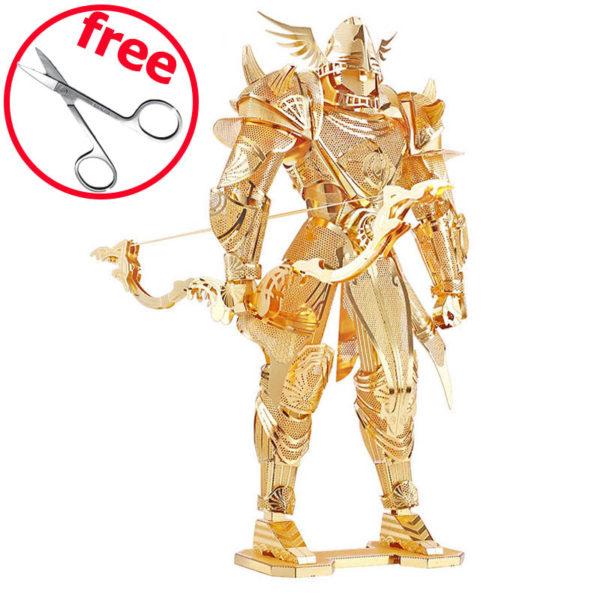 Рыцарь Knight Of Firemament. 3d пазл из металла.