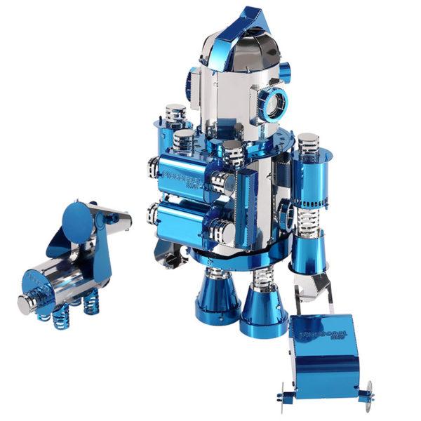 Робот 3d пазл из металла. Конструктор для взрослых.