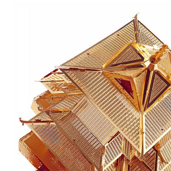 Смотровая башня 3d пазл из металла. Конструктор для взрослых.