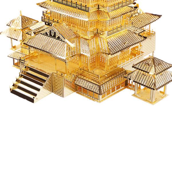 Павильон TengWang 3d пазл из металла. Конструктор для взрослых.
