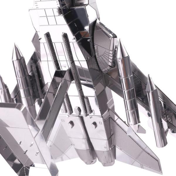 Истребитель Торнадо 3д пазлы из металла