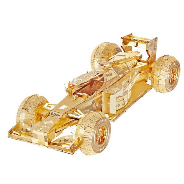 Гоночный автомобиль 3d пазл из металла