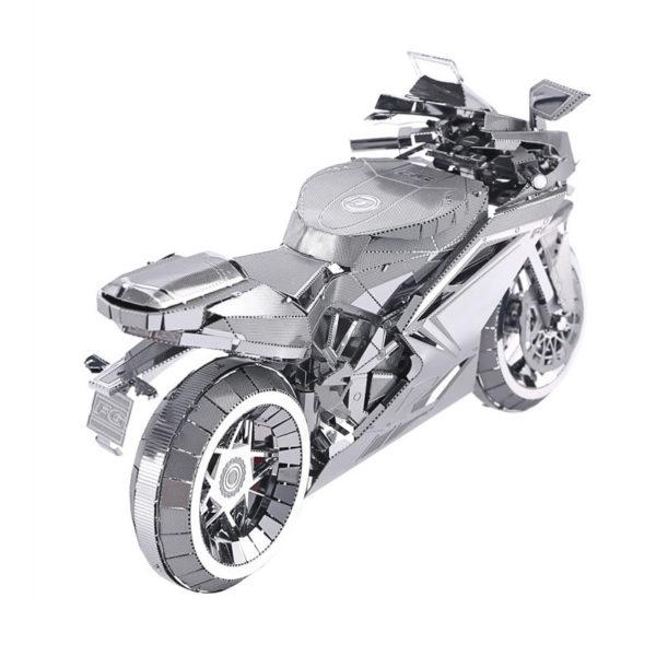 Мотоцикл 3d пазл из металла