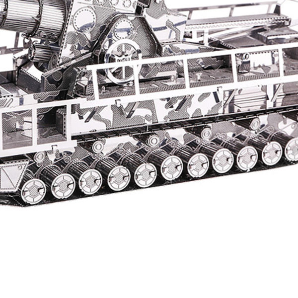 3d пазл из металла Самоходная пушка