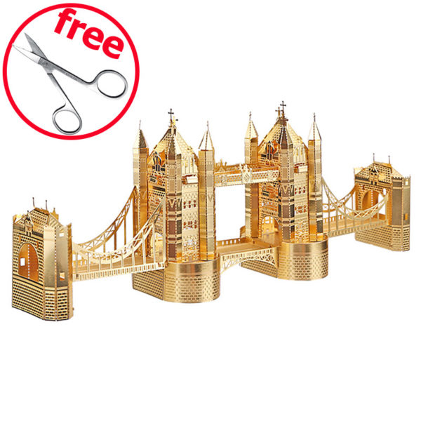 London Tower 3D пазл конструктор из металла