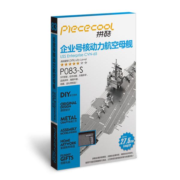 Авианосец Enterprise cборная модель конструктор для взрослых из металла.