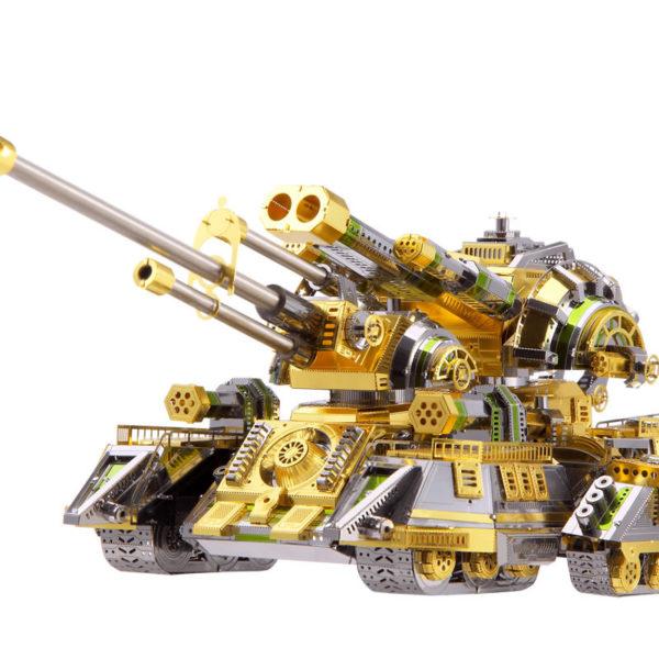 3D пазл из металла. Тяжёлый танк Spider.