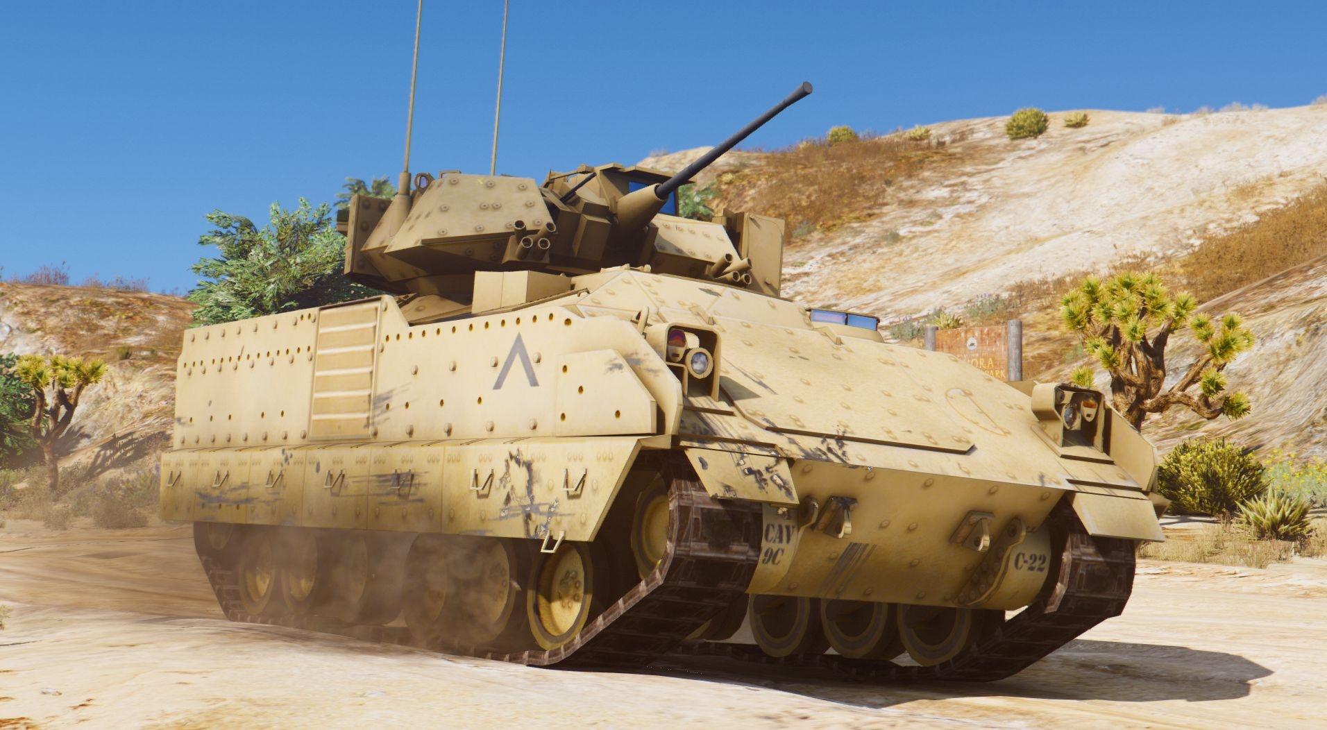 Танк M2A2 Bradley