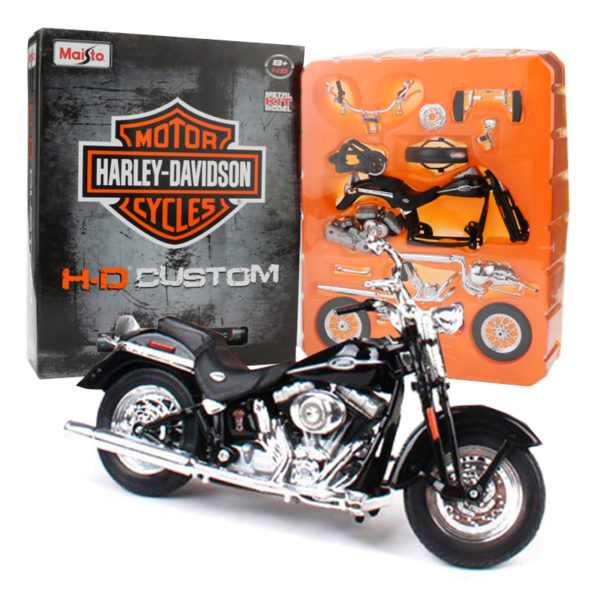 Maisto 1:12 Harley Davidson 2005 мотоцикл. Конструктор из металла.