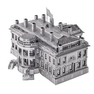 White House cборная модель конструктор для взрослых из металла.