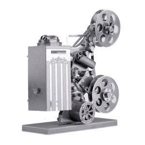 Киноаппарат сборная модель конструктор для взрослых из металла. 3d пазлы.