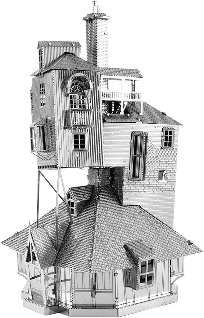 3д пазлы из металла конструктор дом Гарри Поттера