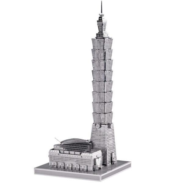 Taipei 3d пазл из металла. Конструктор для взрослых.