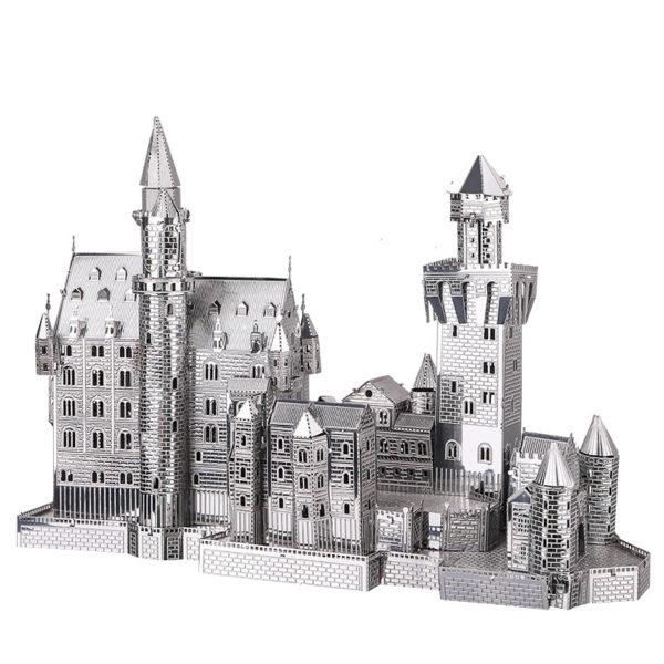 Замок Neuschwanstein 3d пазл из металла