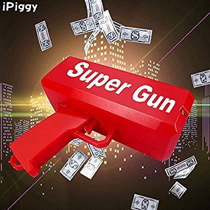 пистолет разбрасыватель денег