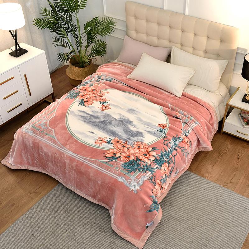 утяжеленное одеяло с бусинами