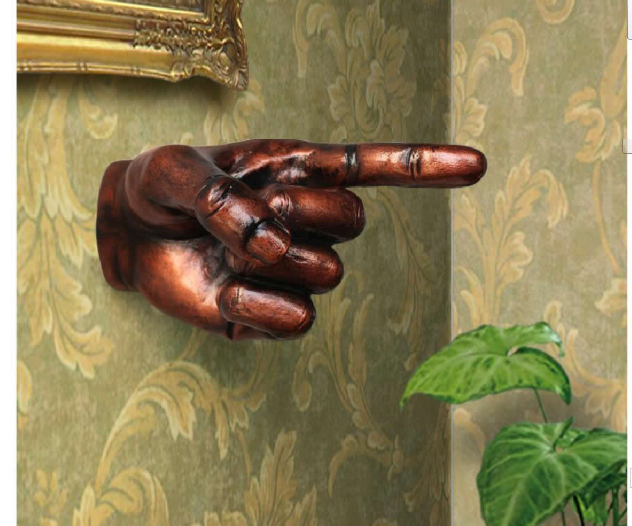 Руки из стены