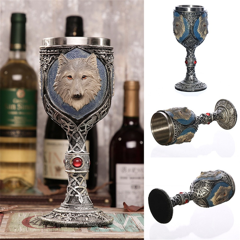 Винный Кубок с Волком