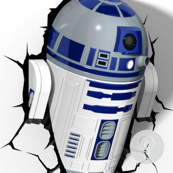 Светильник на стену робот R2D2 Звездные Войны