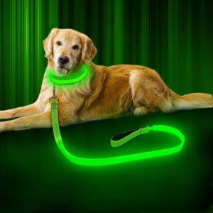 Светодиодный ошейник для собак