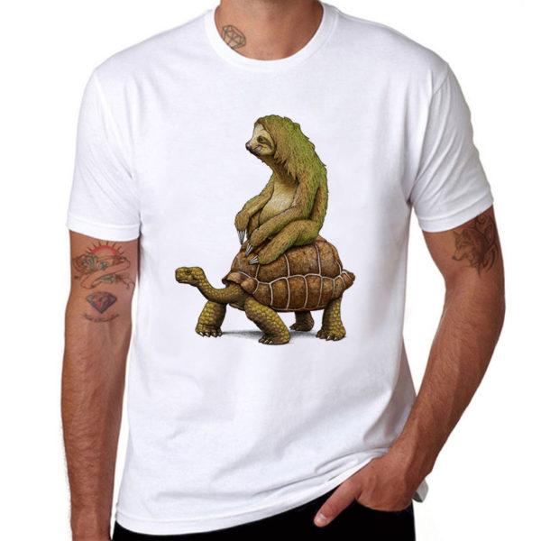 футболка для лентяев