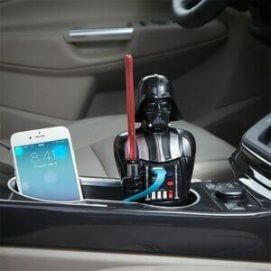 Зарядное устройство Дарт Вейдер Звездные войны в автомобиль