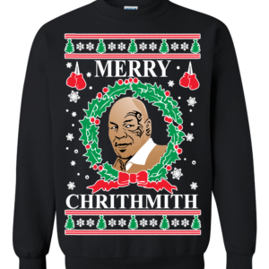 пуловер с Майком Тайсоном
