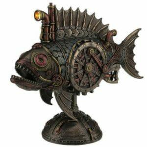 Стимпанк статуэтка Рыба Субмарина