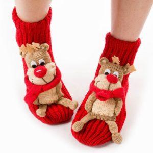 Носки для женщин и девочек от Санты и Деда Мороза