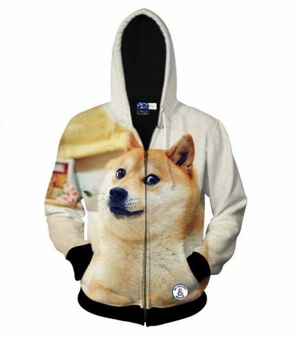 толстовка собака