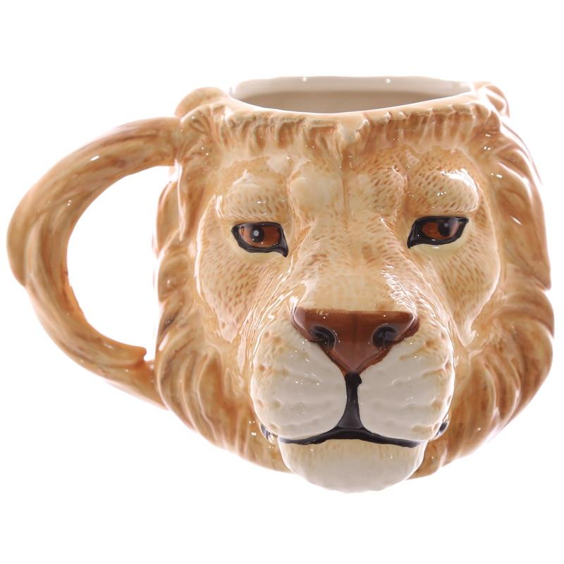 кружка в подарок лев