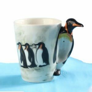 Кружка 3d Пингвин