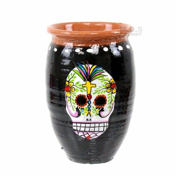 Кружка в традиционном мексиканском стиле.