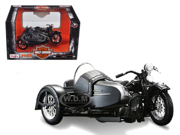 Коллекционная Модель 1:18 1948 Harley Davidson FL