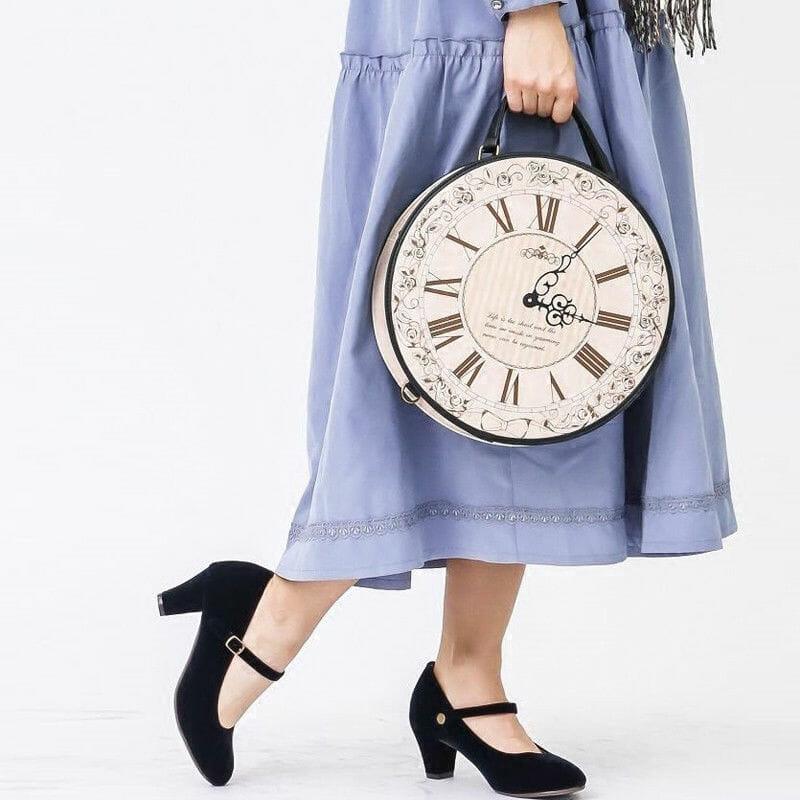 Круглый Рюкзак Часы