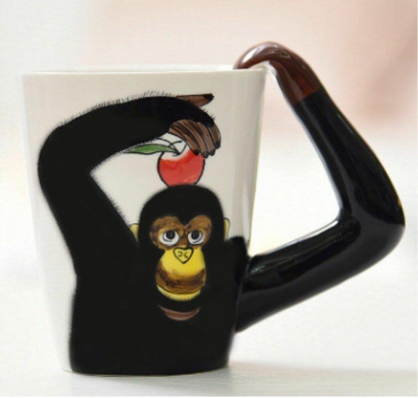 кружка в подарок обезьяна