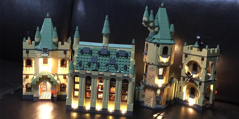 Конструктор лего школа в Хогвард Гарри Поттер