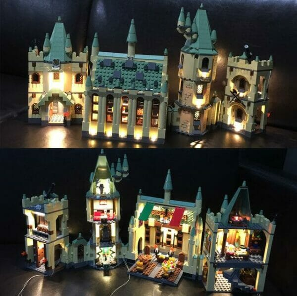 Школа в Хогвард Гарри Поттер конструктор лего